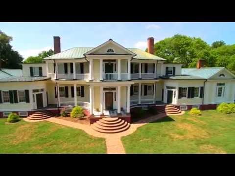 Belle Grove Plantation (King George, VA) Flight Video