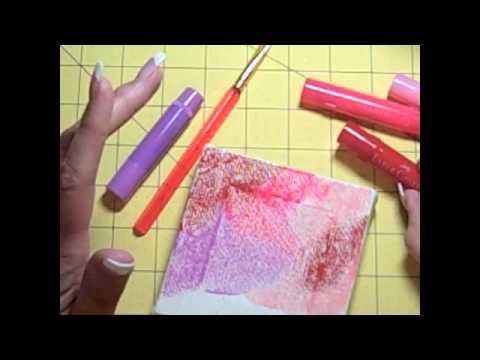 How to Use Faber-Castell Color Gelatos.m4v