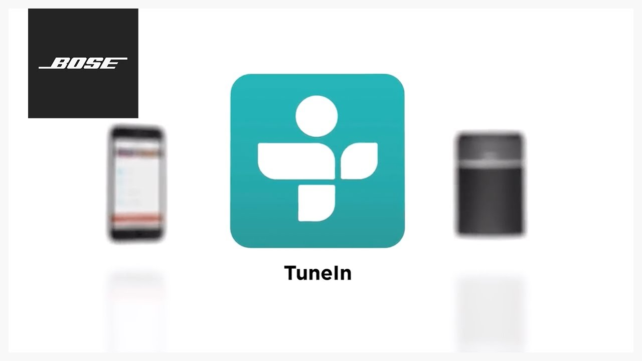 Bose SoundTouch App – TuneIn