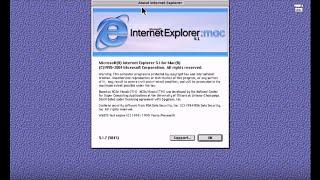 Microsoft Internet Explorer 5.1.7 for macintosh  oldweb.today