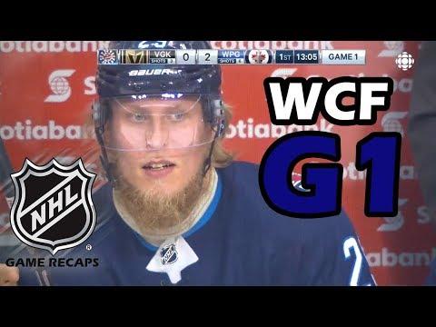 Vegas Golden Knights vs Winnipeg Jets. 2018 NHL Western Conference Final. G1. 05.12.2018. (HD)