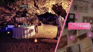Weekend List - Cave Dinning Romantis di Samabe Resort Bali