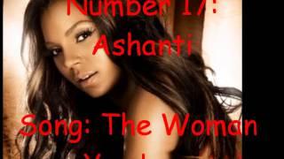 top 50 female rb artist