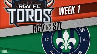 Rio Grande Valley FC vs Saint Louis FC full match
