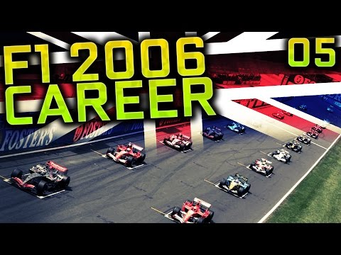 F1 2006 Career Mode S4 Part 5: Silverstone