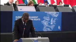 Speech of Dr Denis Mukwege, 2014 Sakharov Prize Laureate, in Strasbourg, 26 November 2014
