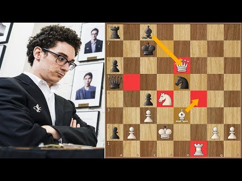 Fabi Summons His Inner Tal | Caruana vs Akobian | US Championship 2018.