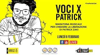 L'8 febbraio è il primo triste anniversario dell'arresto di patrick zaki. in questa circostanza amnesty international italia, mei – meeting delle etichette i...