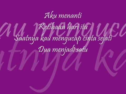 taufik batisah-nafasku with lyrics