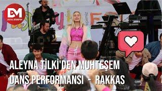 """Aleyna Tilki'den Muhteşem Dans Performansı - Rakkas - """"Dijital Mikrofon İle Müziğe Kulak Ver"""""""