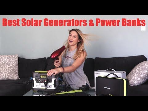 Best Solar Generators and Power Banks: Hiking, Camping & Backpacking