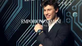 Emporio Armani Connected smartwatch talk show with Shawn Mendes
