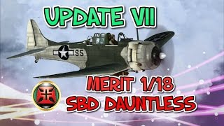 1/18th MERIT INTERNATIONAL SBD DAUNTLESS UPDATE VII