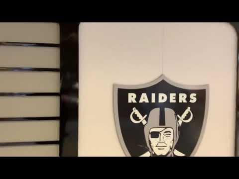 "A Brief Look At The Oakland Raiders Las Vegas ""Raider Image"" Store At McCarran Airport"
