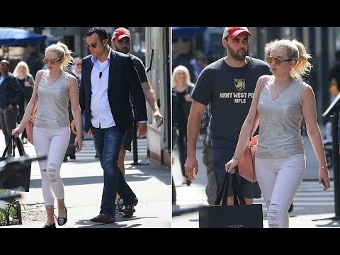 Tiffany Trump goes shopping in New York City flanked by ...