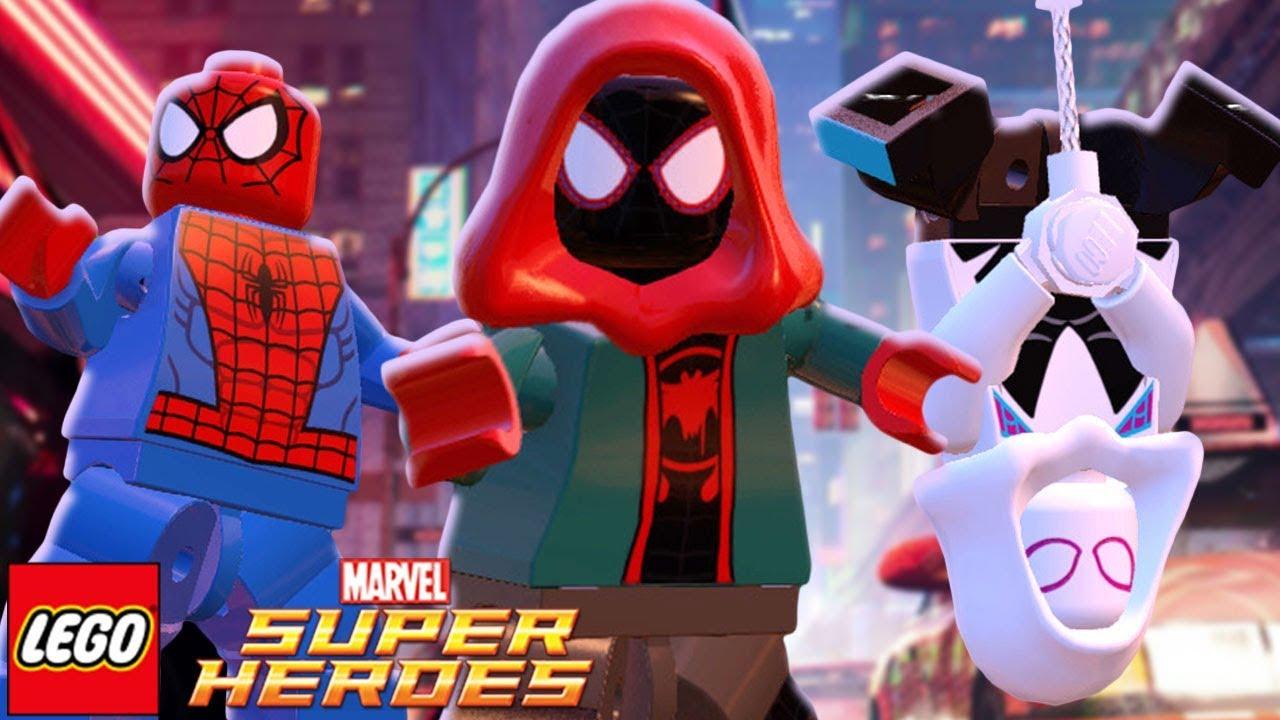 Lego Marvel Super Heroes 55 Miles Morales Do Filme Homem Aranha No Aranhaverso Raposa Verde