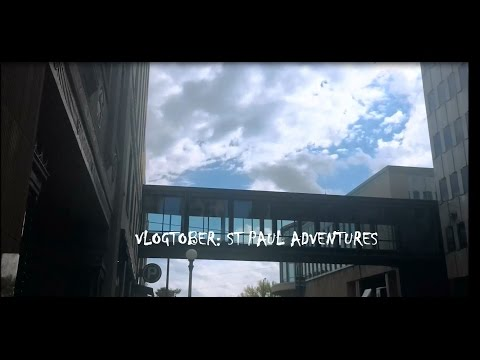 VLOGTOBER: I HATE MONDAYS & ST PAUL ADVENTURES - OCTOBER 3RD