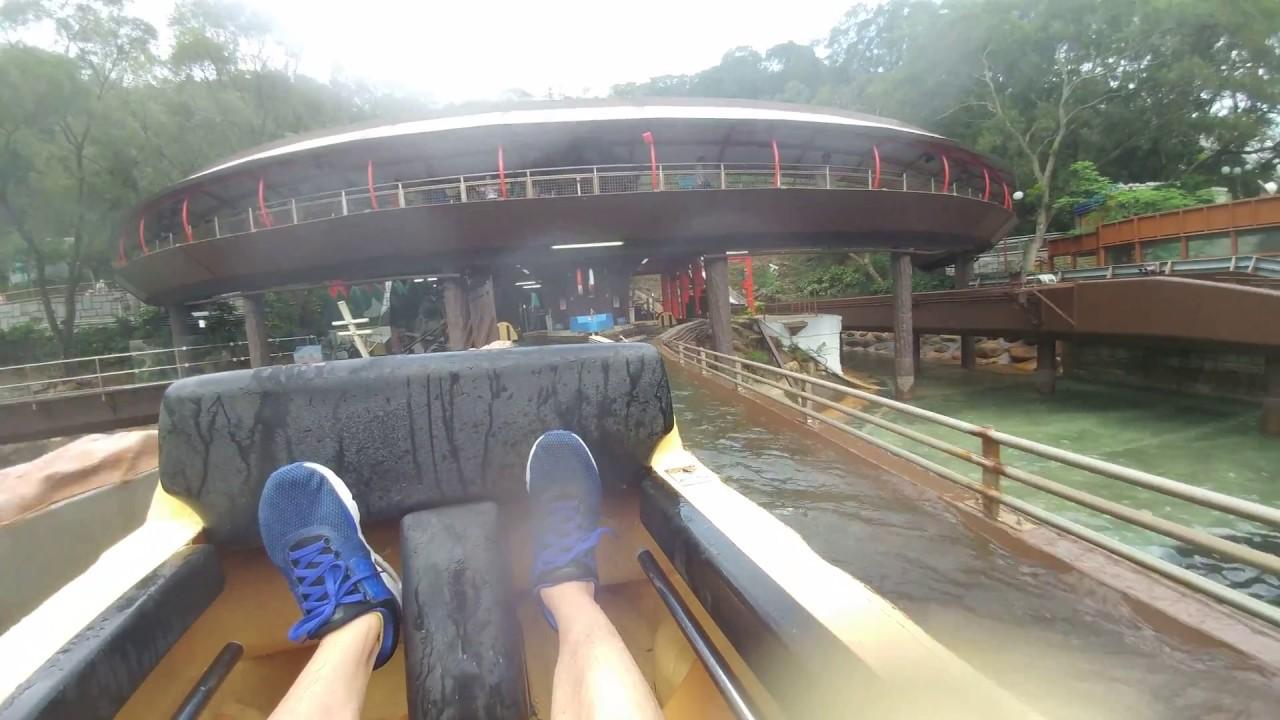 海洋公園 滑浪飛船 2018 - HK Ocean Park Raging River - YouTube
