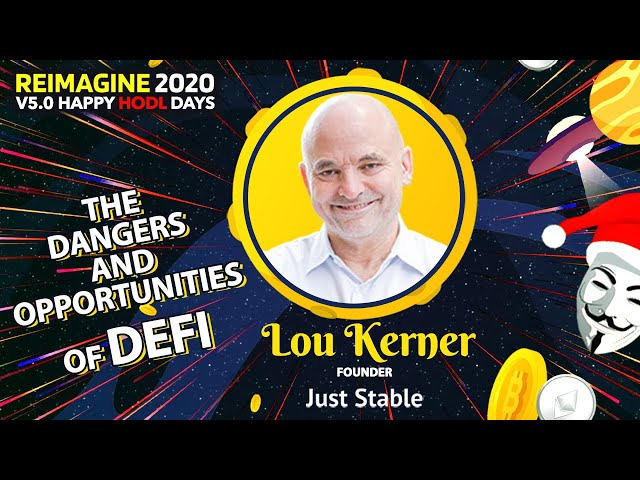 Lou Kerner - Just Stable - Stablecoins For Everyone