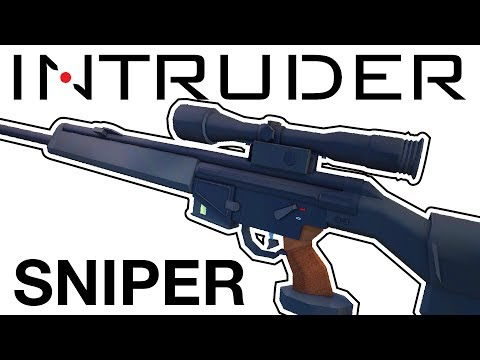 INTRUDER Sniper Rifle Guide, Locations, Codes   Intruder Early Access Gameplay