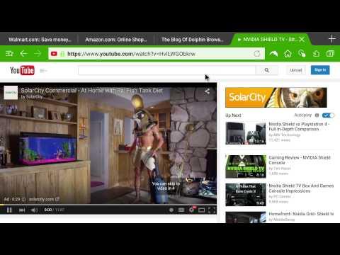 NVIDIA SHIELD TV:  Browser Battle - Chrome vs Firefox vs Dolphin vs Opera