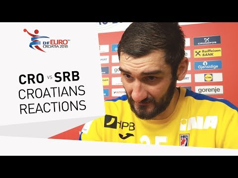 Post Game Reactions | Croatia | Men's EHF EURO 2018