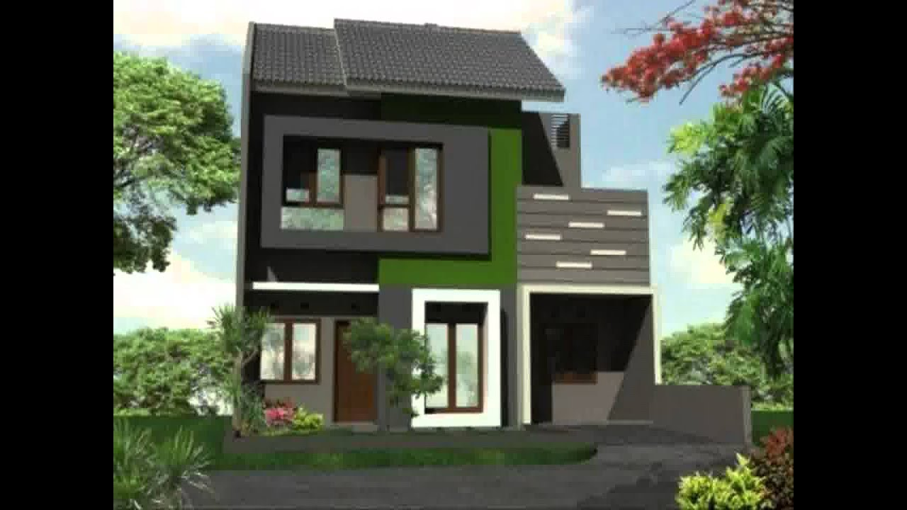 Rumah Minimalis 2 Lantai Gaya Eropa Yg Sedang Trend Saat Ini Youtube