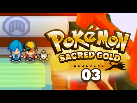 """""""UFO Takes Flight!"""" - Pokémon Sacred Gold Nuzlocke w/ SupraLugia! Episode #03"""