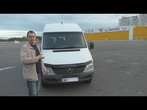 Обзор Mercedes-Benz Sprinter  313 CDI