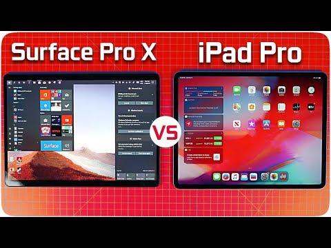 Microsoft Surface Pro X Vs Apple IPad Pro