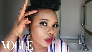 Yemi Alade's Performance-Ready Makeup Routine | Beauty Secrets | Vogue