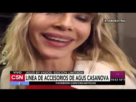 C5N - Tarde Xtra: La nueva linea de accesorios de Agus Casanova