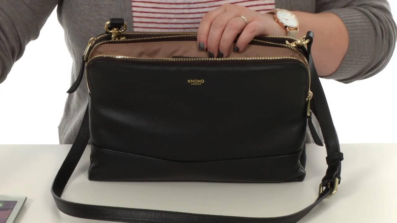Knomo London Davies Leather Crossbody Bag Sku 8583041