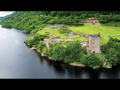 Urquhart Castle Scotland • Loch Ness Castle in the Highlands of Scotland | European Waterways