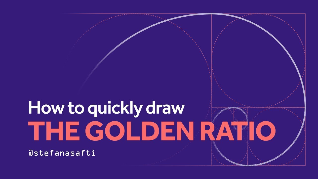 How to draw the Golden Ratio SUPER FAST in Illustrator CC