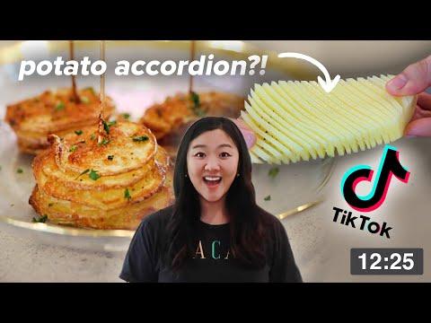 I Tried Viral TikTok Potato Recipes Using An Air Fryer • Tasty