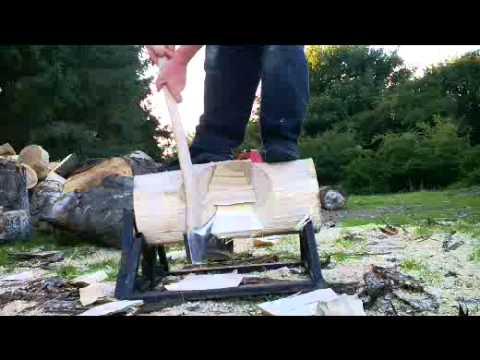 testing new axe  oxhead