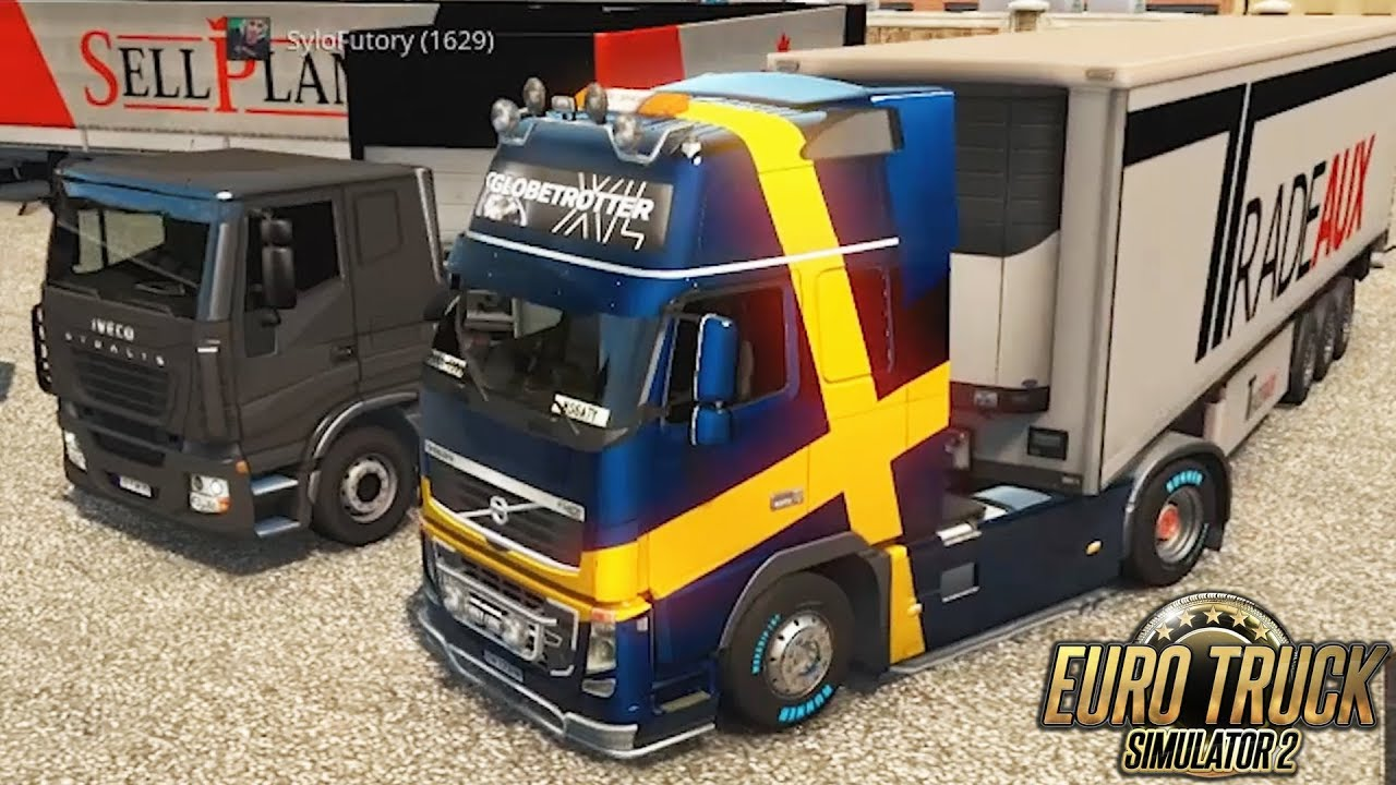 """PRAWIE JAK NA PODWÓJNEJ! Euro Truck Simulator 2 Multiplayer Hogaty i Sylo #03 """"PRAGA/DREZNO/LUBLIN"""""""