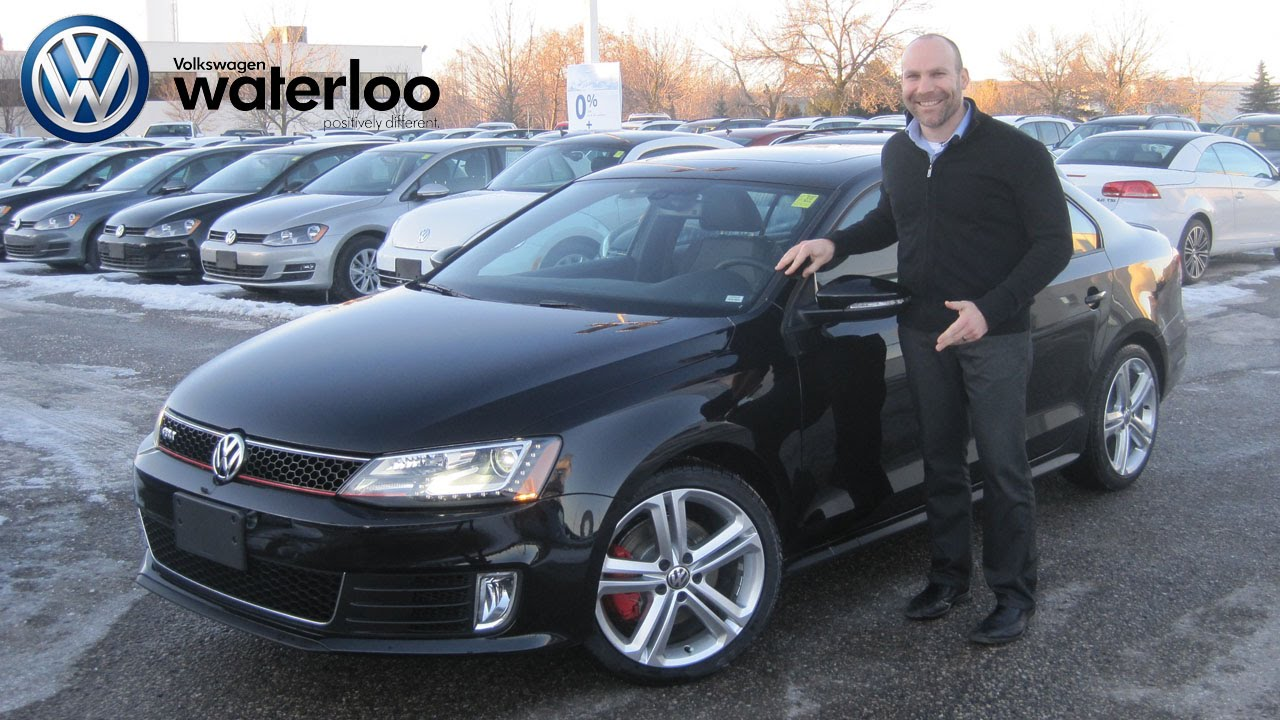 2015 VW Jetta GLI at Volkswagen Waterloo with Robert ...