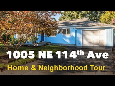 Home For Sale - 1005 NE 114th Ave, Portland OR