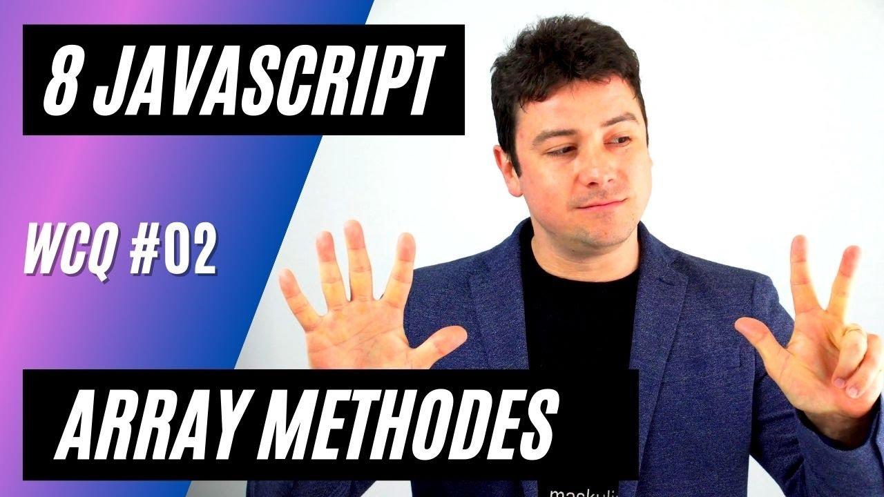8 Useful JavaScript Array Methods