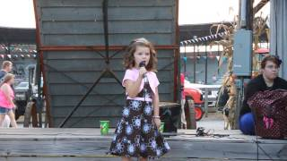 5 year old singing Mamas Broken Heart