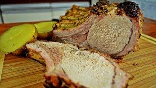 Свиная корейка запеченая в духовке - супер-сочно! Просто рецепт.