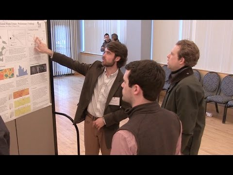 Graduate research symposium: The poster session