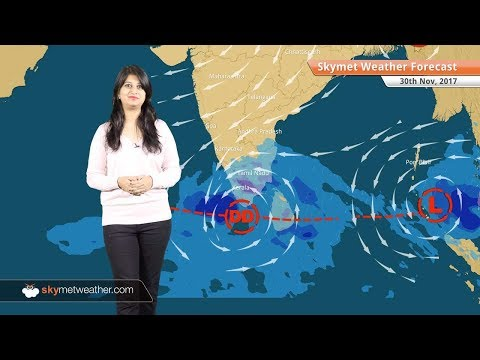 Weather Forecast for Nov 30: Cyclone alert issued, heavy rains in Tamil Nadu, Kerala