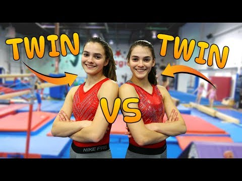 TWIN VS TWIN: Ultimate Gymnastics Challenge Edition thumbnail
