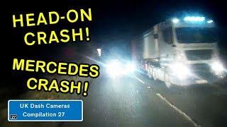 UK Dash Cameras - Compilation 27 - Bad Drivers, Crashes + Close Calls