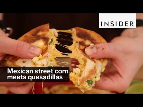 How to Make Quesadillas With Street Corn