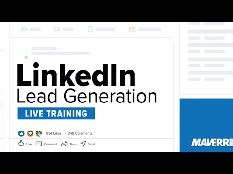 LinkedIn Lead Generation : Live Training