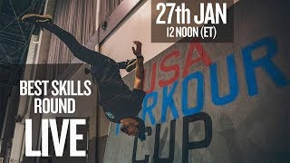 USA Parkour Cup: Best Skills Competition (Live Stream)
